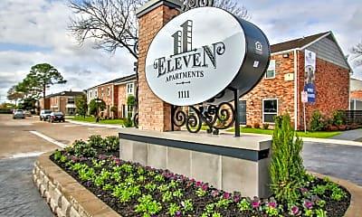 Community Signage, 11Eleven, 2