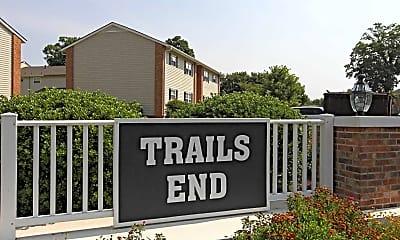 Community Signage, Trails End, 0
