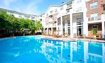 Pool, 10X Living at Columbia Town Center, 0