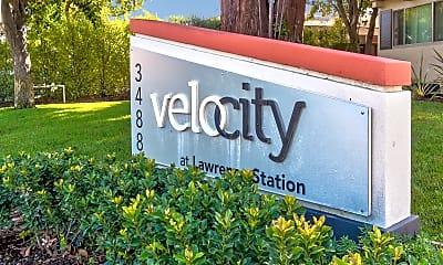 Community Signage, Velocity at Lawrence Station, 1