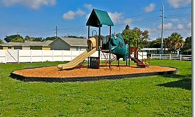 Playground, Treesdale Apartments, 2