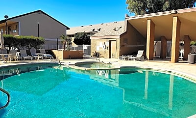 Pool, Silver Creek Apartments, 0