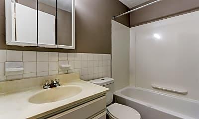 Bathroom, Bluestone Apartments, 2