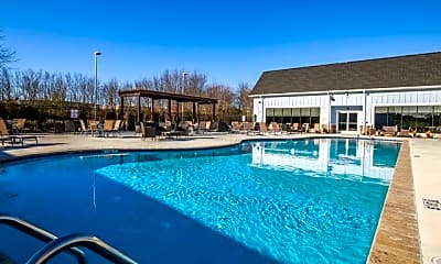 Pool, Watercolors of Centerton Apartments, 2