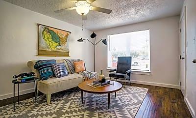 Living Room, 701 Culbertson Drive, 1