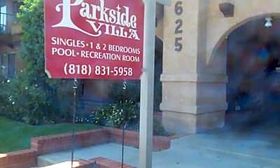 Parkside Villa, 1