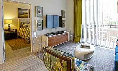 Living Room, Paraiso At Fountain Square, 1
