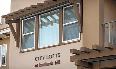 Community Signage, Elan City Lofts, 2