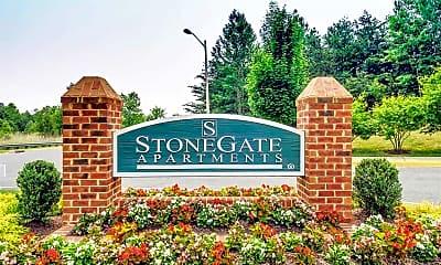 Community Signage, Stonegate Apartments, 2