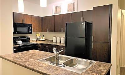 Kitchen, Elevation Apartments, 1