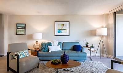 Living Room, Nuvo Modern Rentals, 1
