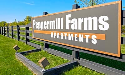 Community Signage, Peppermill Farms, 2