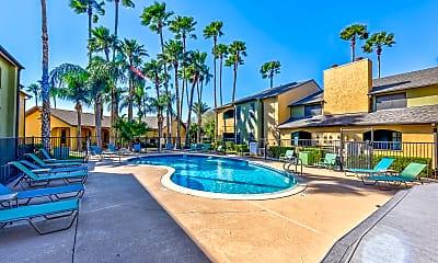Pool, Sierra Apartments, 0