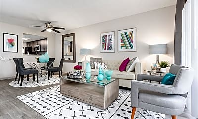 Living Room, 8080 NW 10th Ct 201, 1