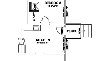 Bathroom, 212 N Hamilton St, 2