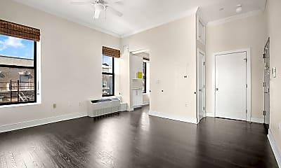 Living Room, 555 Malcolm X Blvd PH-G, 2