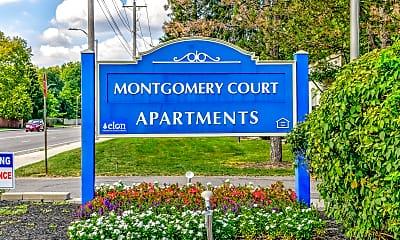 Community Signage, Montgomery Court, 2