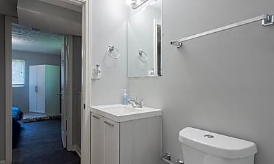 Bathroom, Room for Rent -  a 6 minute walk to bus 126, 1