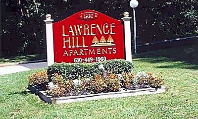Community Signage, Lawrence Hill Apartments, 0