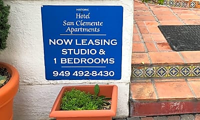 Hotel San Clemente Apartments, 1