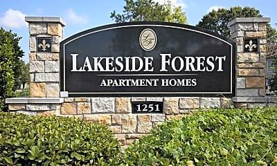 Community Signage, Lakeside Forest, 0