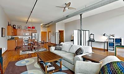 Living Room, 523 Jackson St 308, 1