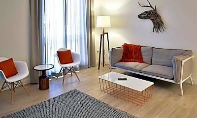Living Room, Kendrick Place, 1