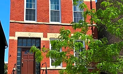 Building, 1643 S Throop St, 1