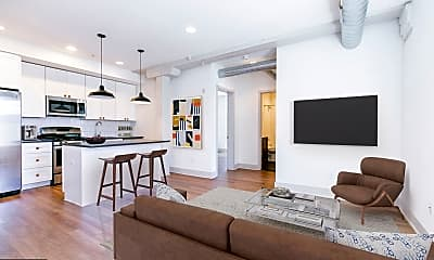 Living Room, 1618 Mifflin St 2C, 0