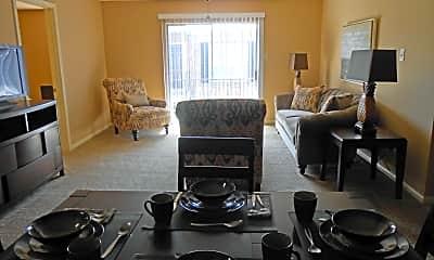 Living Room, Oaks of Charleston, 2