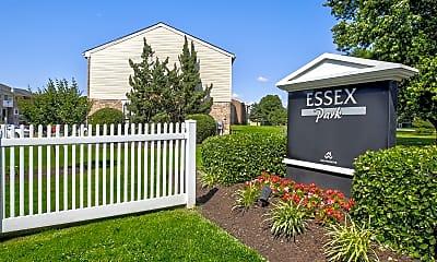 Community Signage, Essex Park Apartments, 2