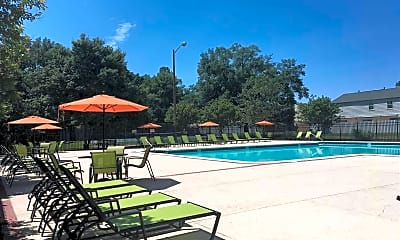 Pool, Staples Mill Townhomes, 0