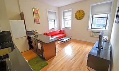 Living Room, 401 W 57th St, 1