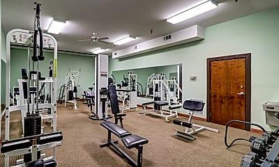 Fitness Weight Room, Newberry Lofts, 2