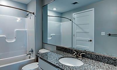 Bathroom, Flats at 25th, 2