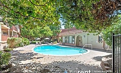 Pool, 1083 Alta Mira Drive, A, 2