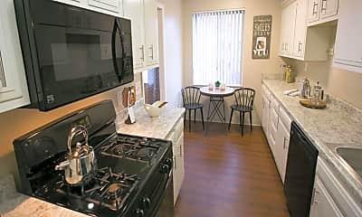 Kitchen, Deville Apartments, 0