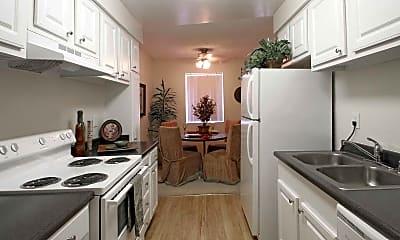 Kitchen, West Edge Apartments, 0