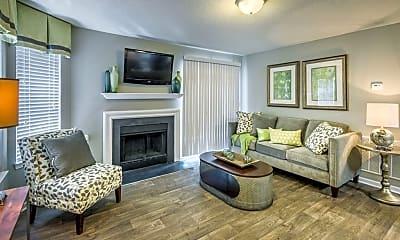 Living Room, Woodlake Reserve, 1