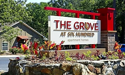 Community Signage, The Grove at Six Hundred, 0