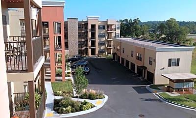Courtyard, Crown Woods Village, 0