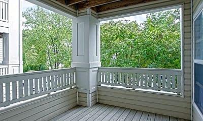 Patio / Deck, Beechridge Apartments, 2
