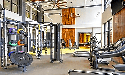 Fitness Weight Room, 927 W Morgan St, 2