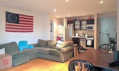 Living Room, 636 E 11th St 6C, 1