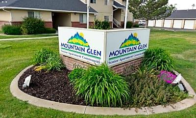 Community Signage, Mountain Glen, 1