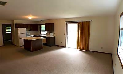 Living Room, 812 N Bradley, 1