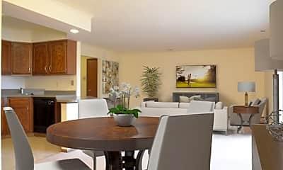 Dining Room, Beacon Hill, 1