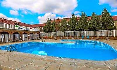 Pool, Maple Ridge Apartments, 1