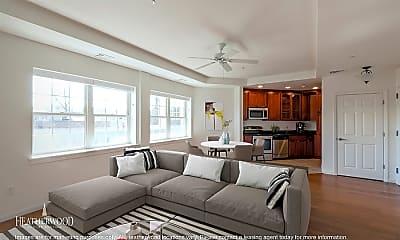 Living Room, Gerard Street Apartments, 0