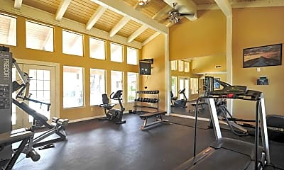 Fitness Weight Room, The Warwick, 1